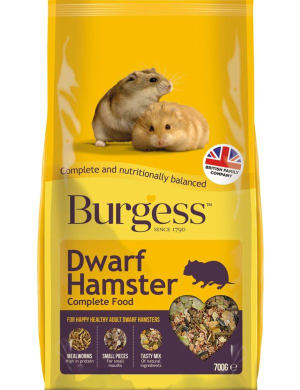 Burgess hamster foder